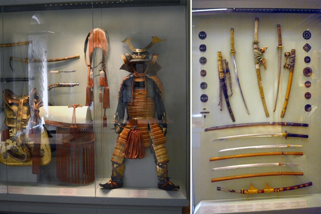 Японские мечи, обмундирование самурая