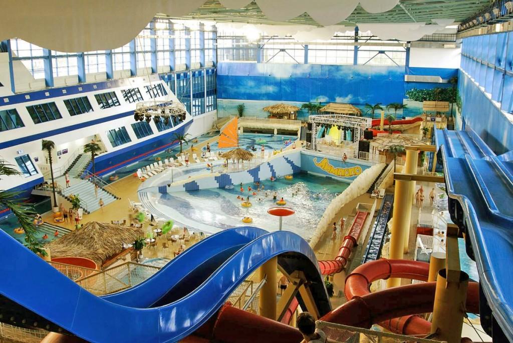 Отдых в аквапарке Лимпомпо, г.Екатеринбург