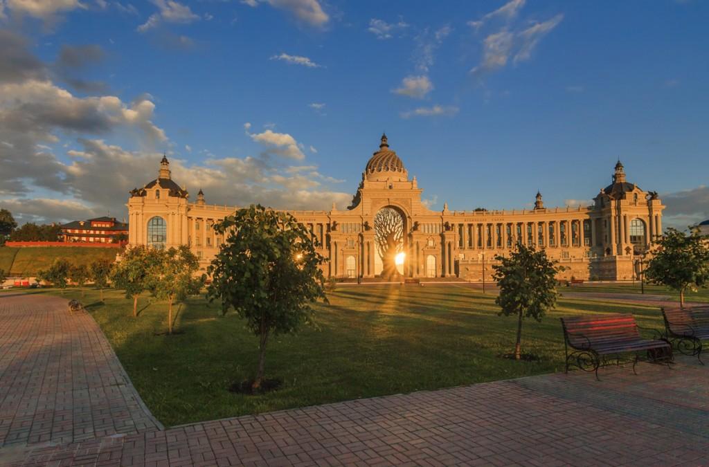Дворец земледельцев на Дворцовой площади, Казань
