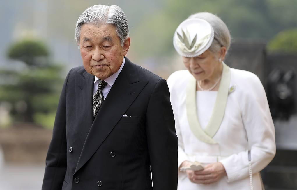 Император Акихито отрекся от престола